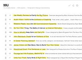 crucial elements to writing the perfect blog post 99u headlines highlighted