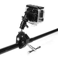 Fishing Rod <b>Bow Arrow Stick</b> Fixed Clip Holder <b>for</b> GoPro hero 7 6 5 ...