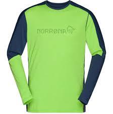 <b>Футболка</b> мужская <b>Norrona</b> Equaliser Merino <b>Round</b> Neck Bamboo ...