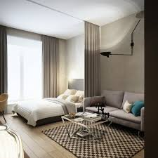 Modern One Bedroom Apartment Design Download Modern Loft Studio Apartment Interior Design Ideas With