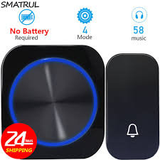 <b>CACAZI</b> Smart Home Safty <b>Wireless DoorBell</b> Waterproof <b>Door Bell</b> ...