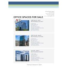doc 500708 example flyer 30 current flyer examples for your office space real estate flyer example flyer