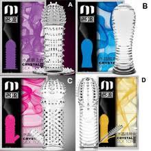 mingliu многоразовые презервативы для мужчин с <b>шипами</b> ...