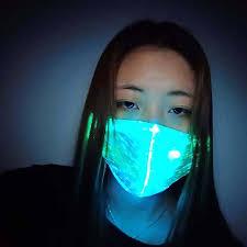 Anti-dust and Anti-smog Sports <b>Luminous</b> Mask <b>Smart</b> Wearable ...