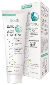 Floralis Placental Age-Fighting <b>Регенерирующий ночной крем</b> для ...