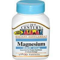 «БАД 21st Century Health Care Magnesium» — Товары для ...