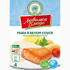 Смесь для приготовления блюда Рыба в белом соусе ...