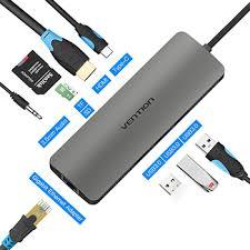<b>Мультифункциональный хаб Vention USB</b> Type C 9 в 1 CGNHA ...