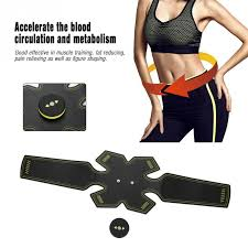 Intensity <b>Rechargeable Abdominal</b> Muscle Stimulator Massager ...