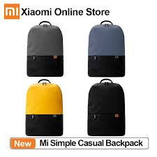 Origianl Xiaomi Simple <b>Casual Backpack</b> 20L Large Capacity ...