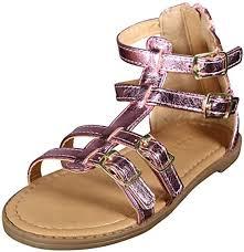 Nicole Miller <b>New</b> York Toddler Girls <b>Comfortable Gladiator Sandals</b> ...