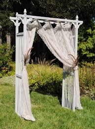 Decorating A Trellis For A Wedding Wedding Arbors Arches