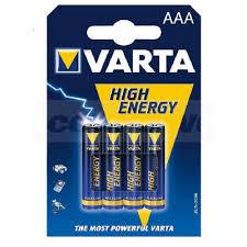 <b>Батарейка AAA</b> 4шт <b>Varta</b> High Energy Micro (0003-4903-121-414 ...