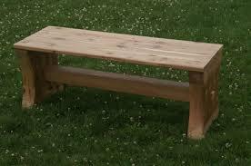 cedar bench cedar bench plans