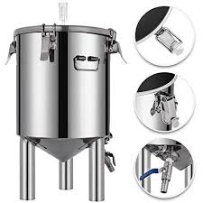 VEVOR 7 Gallon <b>Stainless Steel Brew</b> Fermenter Home <b>Brewing</b> ...