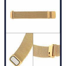 <b>B57</b> Smartwatch Bracelet Stainless Steel Milanese Loop <b>Watch</b> ...