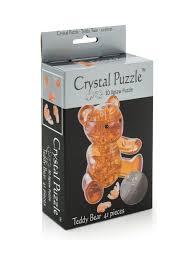 Головоломка <b>3D Мишка</b> янтарный <b>Crystal puzzle</b> 12816671 в ...