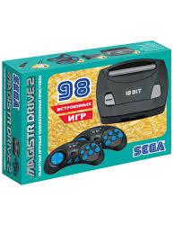 <b>Игровая</b> консоль <b>Sega</b> Drive 2 lit + 98 игр МАГИСТР 7913795 в ...
