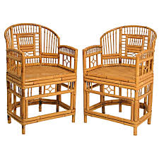 pair of chinese bamboo chairs at 1stdibs chinese bamboo furniture