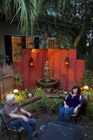 diy slatted outdoor privacy screen stemthis would be neat on your deck old shutter screen shutters privac