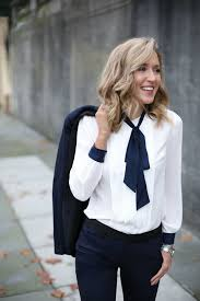 holiday staples memorandum nyc fashion lifestyle blog for tie neck blouse for work