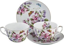 <b>Набор чайный Lefard Весна</b>, 4 предмета, 69-1762