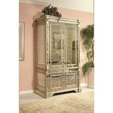bassett mirror furniture 8311 567 borghese mirrored media chest bassett mirror armoires borghese furniture mirrored