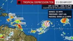 Tropical Storm Jerry May Bring Heavy Rain to Puerto Rico, Northern ...