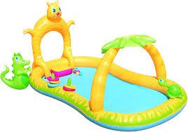 Надувной <b>детский бассейн Bestway 53030</b> 280x170x137 Джунгли ...
