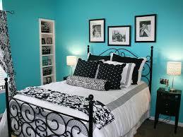 bedroom blue green home