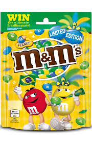 Brazil-inspired Peanut <b>M&M's</b> from <b>Mars</b> | Flexible Packaging