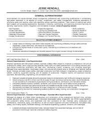 resume objective examples general template   themysticwindowexample general superintendent resume free sample iulgi zb