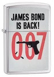 Купить <b>зажигалки Zippo James Bond</b>. Доставка по Москве и России.