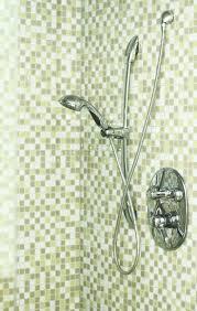 worn moldy caulking bathroom