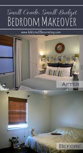 bedroom master ideas budget: small condo small budget bedroom makeover before amp after