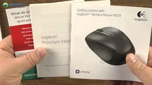 Распаковка <b>Logitech Wireless Mouse M325 Light</b> Silver - YouTube