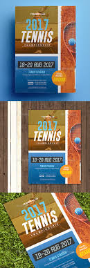 tennis championship flyer by aarleykaiven graphicriver tennis championship flyer sports events