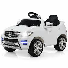 Costway Mercedes Benz ML350 6V <b>Electric Kids Ride On</b> Car ...