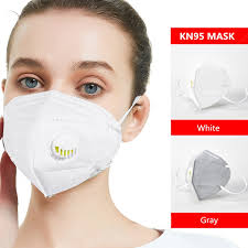 KN95 Face Mask Anti Dust Pollution Filter Protective Non-medical ...