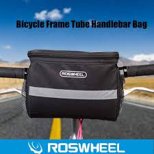 DierCosy Portable <b>Bicycle Front</b> Basket Frame Tube <b>Handlebar Bag</b> ...