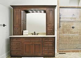 bathroom vanity hutch home bathroom vanity with hutch bob home design
