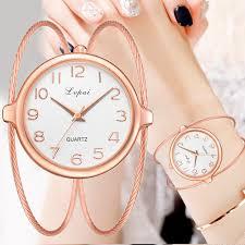<b>Women</b> Fashion Luxury <b>Watch</b> Bracelet Quartz <b>Dress Watches Rose</b> ...