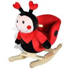 lovely ladybug animal rocker 12 months up baby nursery cool bee animal rocking horse