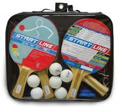 <b>Набор</b> START LINE: <b>4</b> Ракетки Level 100, 6 Мячей Club Select ...