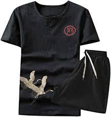 Sports Shorts Thin <b>Sets Mens Summer</b> Leisure Fashion Color ...