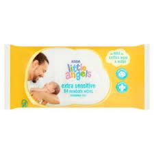 ASDA Little Angels Extra Sensitive <b>Fragrance Free Newborn</b> Wipes ...