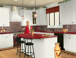 kitchen colors with white cabinets and black countertops beadboard laundry rustic medium gutters landscape architects home services architecture awesome kitchen design idea red
