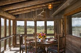 cabin rustic decor porch rustic with floral arrangement table setting floral arrangement cabin lighting ideas