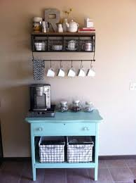 14 tips for diying a coffee bar at home brit co unique diy coffee station