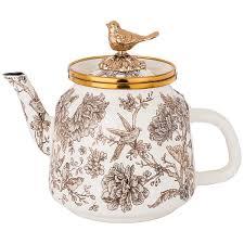<b>Агнесс Белый чайник заварочный</b> 1 л